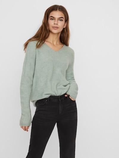 VERO MODA Jersey en verde, Vista del modelo
