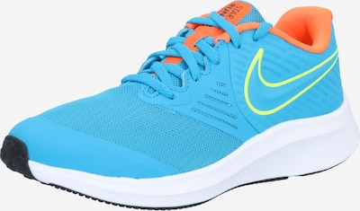 NIKE Sports shoe 'Star Runner 2' in blue / yellow / red, Item view