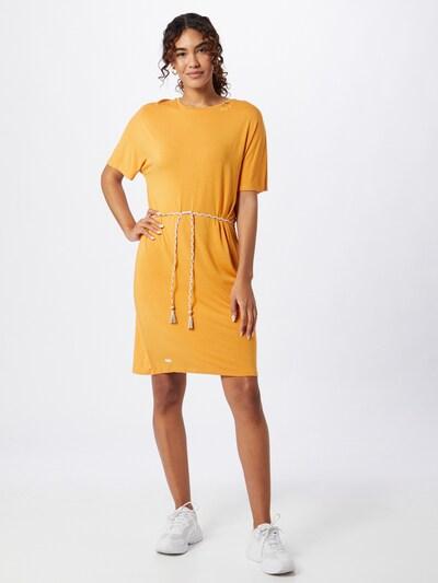 Ragwear Kleid 'KASS' in safran, Modelansicht