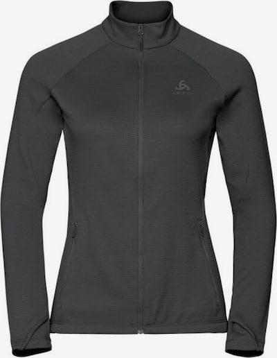ODLO Sweatshirt ' Midlayer full zip PROITA ' in grau, Produktansicht