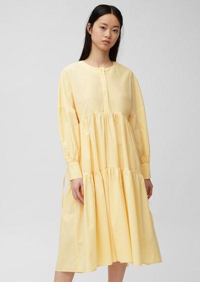 Marc O'Polo Pure Kleid in pastellgelb, Modelansicht