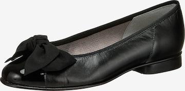 GABOR Ballet Flats in Black