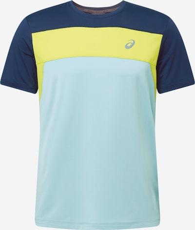ASICS Camiseta funcional 'Race' en azul claro / azul oscuro / amarillo, Vista del producto