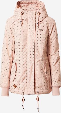 Ragwear Jacke 'DANKA' in Pink