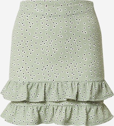 Miss Selfridge Skirt in Pastel green / Black / White, Item view