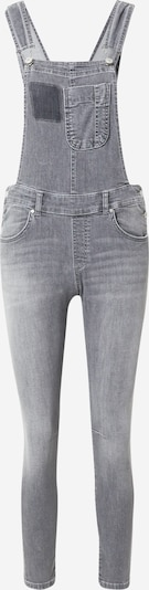 LTB Latzhose 'Carmin' in grey denim, Produktansicht
