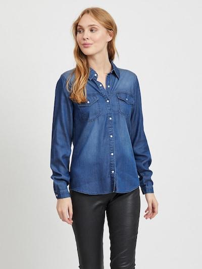 VILA Blouse 'VIBISTA' in blue, View model
