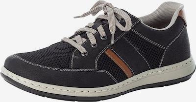 konyak / fekete RIEKER Fűzős cipő, Termék nézet
