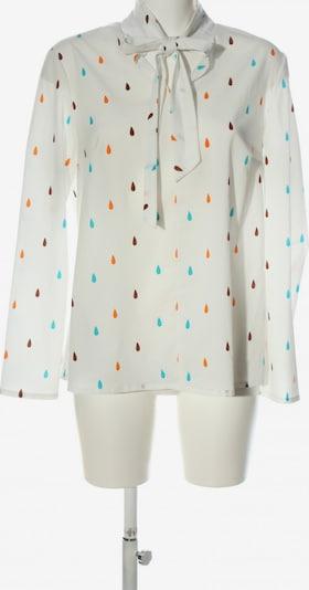 NIFE Schlupf-Bluse in XXL in türkis / hellorange / weiß, Produktansicht