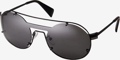 Yohji Yamamoto Eyewear Sonnenbrille 'YY7026-002' in schwarz, Produktansicht