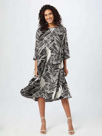 Masai Kleid 'Nabia' in schwarz / weiß, Modelansicht
