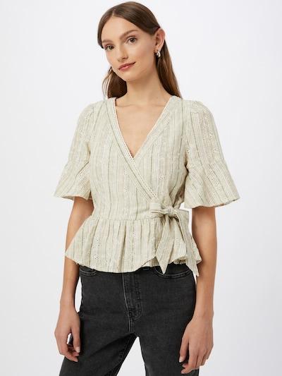 American Eagle Bluse in khaki / weiß, Modelansicht