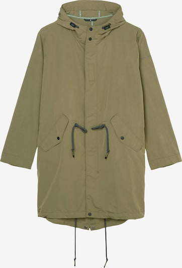 Marc O'Polo Kapuzen-Kurzmantel in grün, Produktansicht