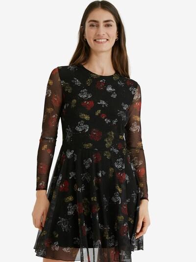 Desigual Kleid 'MICKEY  LOVERS' in mischfarben / schwarz, Modelansicht