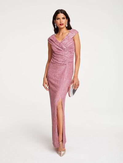 Patrizia Dini by heine Abendkleid in altrosa, Modelansicht