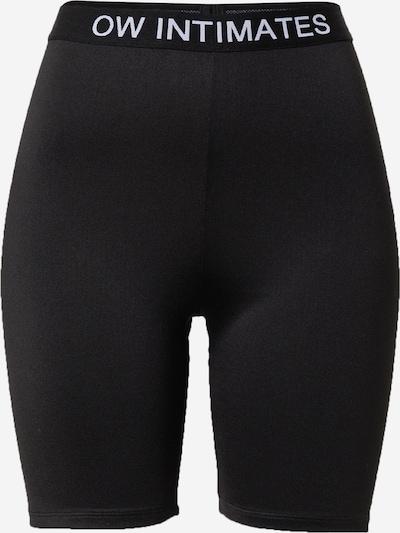 OW Intimates Pantalon modelant en noir / blanc, Vue avec produit