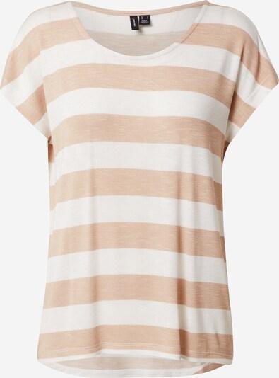 VERO MODA Koszulka w kolorze beżowy / białym, Podgląd produktu