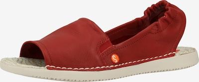 Softinos Sandale in rot, Produktansicht