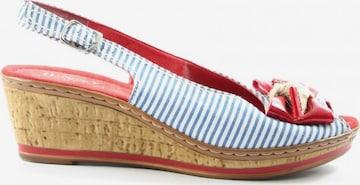 Luftpolster Sandals & High-Heeled Sandals in 38,5 in Blue