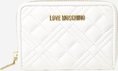 Love Moschino Porte-monnaies en blanc, Vue avec produit