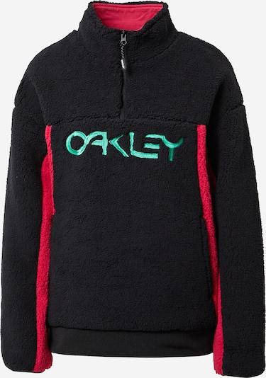 OAKLEY Sweat de sport en rouge rubis / noir, Vue avec produit
