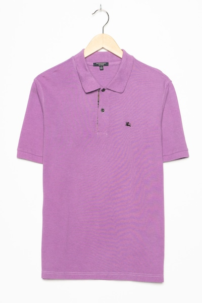 BURBERRY Polohemd in S in orchidee, Produktansicht
