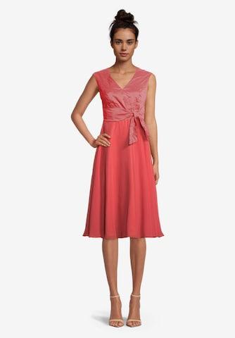 Vera Mont Kokteilové šaty - Červená