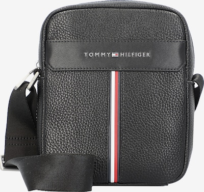 TOMMY HILFIGER Crossbody bag 'Mini Reporter' in red / black / white, Item view