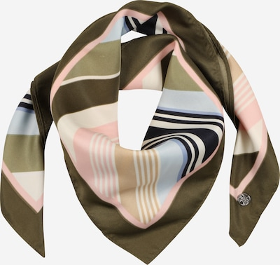 ESPRIT Masque en tissu en crème / bleu clair / olive / bleu violet / rose pastel, Vue avec produit
