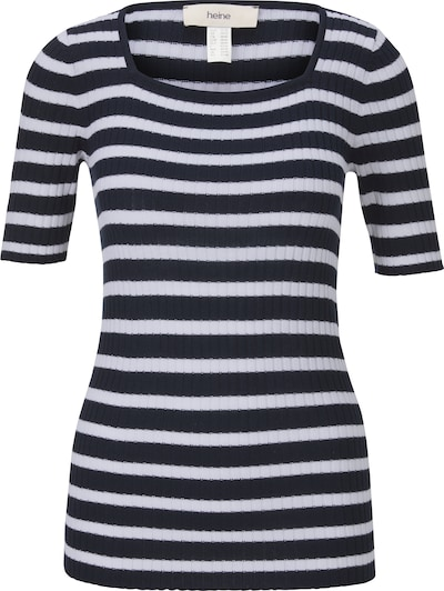 heine Pullover in marine / weiß, Produktansicht