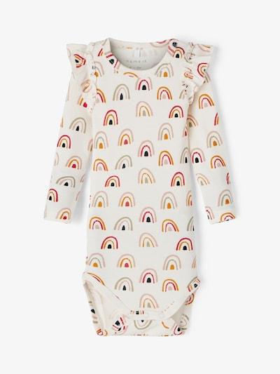 Tutina / body per bambino 'DAOMI' NAME IT di colore zafferano / rosa antico / rosso / nero / bianco, Visualizzazione prodotti