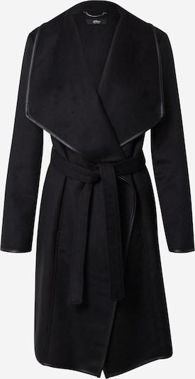 s.Oliver BLACK LABEL Přechodný kabát - černá, Produkt