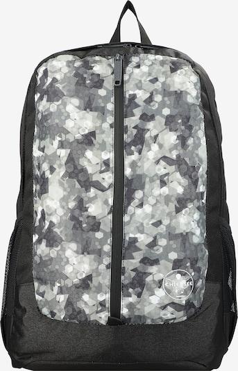 CHIEMSEE Rucksack 'Get'n'Ready' in schwarz / weiß, Produktansicht