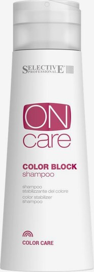 Selective Professional Haarshampoo 'On Care Color Block' in weiß, Produktansicht