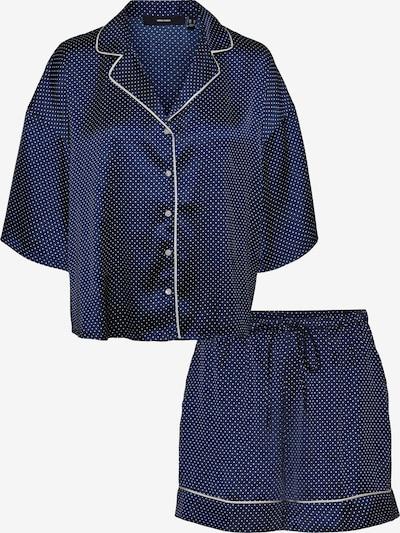VERO MODA Short Pajama Set 'Beate' in Navy / White, Item view