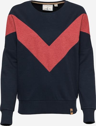 Fli Papigu Sweatshirt 'Handyvertrag anderer Name' in dunkelblau, Produktansicht