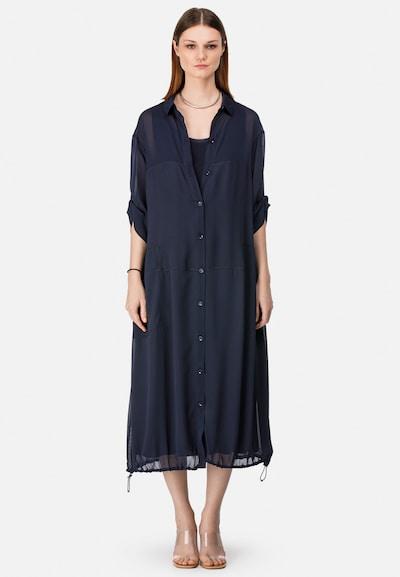 HELMIDGE Blusenkleid in blau, Modelansicht