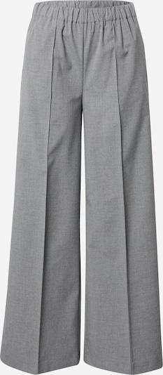 Aligne Pantalon à plis 'Bev' en gris chiné, Vue avec produit