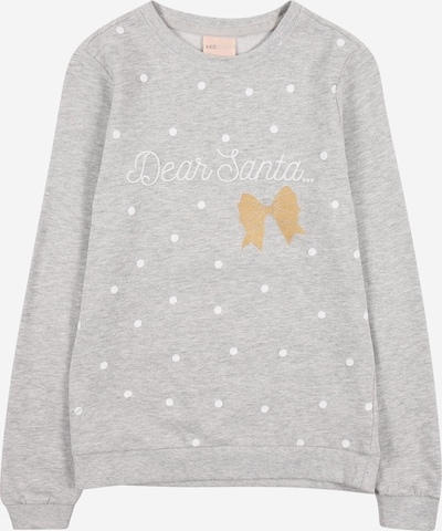 KIDS ONLY Sweat-shirt 'CHRISTMAS' en gris chiné, Vue avec produit
