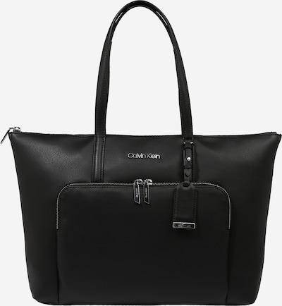 Calvin Klein Shopper en noir / argent, Vue avec produit