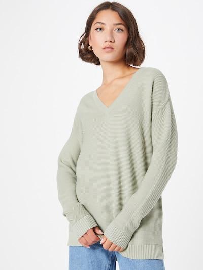 VILA Пуловер 'LALAINE' в светлозелено: Изглед отпред