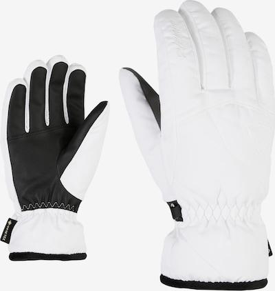 ZIENER Skihandschuh 'KARRI GTX lady glove' in weiß, Produktansicht