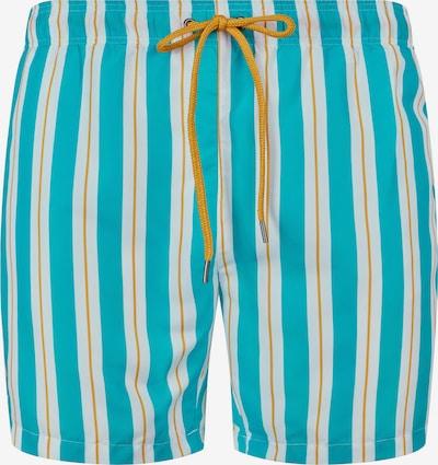 Skiny Kupaće hlače u akvamarin / narančasta / bijela, Pregled proizvoda
