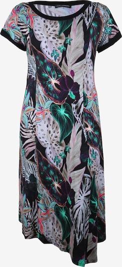 Doris Streich Jerseykleid mit Blätter-Print in mischfarben, Produktansicht
