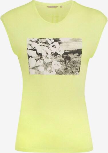 MEXX Shirt in gelb / schwarz / weiß, Produktansicht