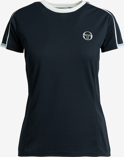 Sergio Tacchini Shirt 'Pliage T-Shirt' in de kleur Blauw / Navy / Donkerblauw, Productweergave