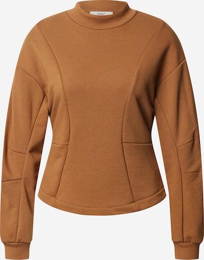 ONLY Sweat-shirt en marron, Vue avec produit