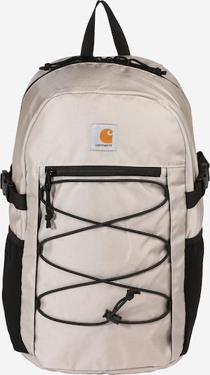Carhartt WIP Rugzak 'Delta' in de kleur Beige / Sinaasappel / Zwart, Productweergave
