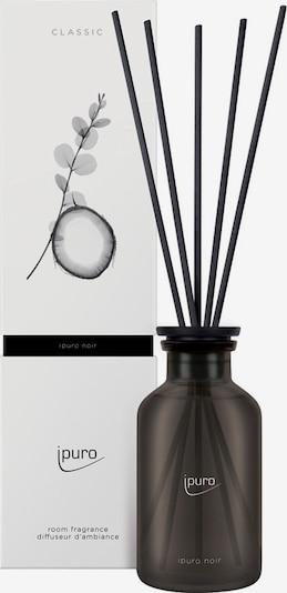 ipuro Raumduft 'Noir' in schwarz / transparent, Produktansicht