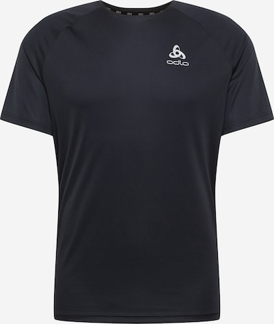 ODLO Functional shirt in Black / White: Frontal view
